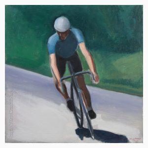 Downhill Cyclist